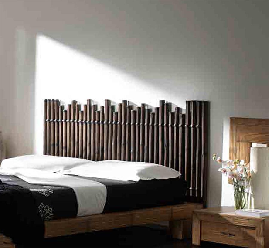 t te de lit en bambou weng palissade 5807. Black Bedroom Furniture Sets. Home Design Ideas