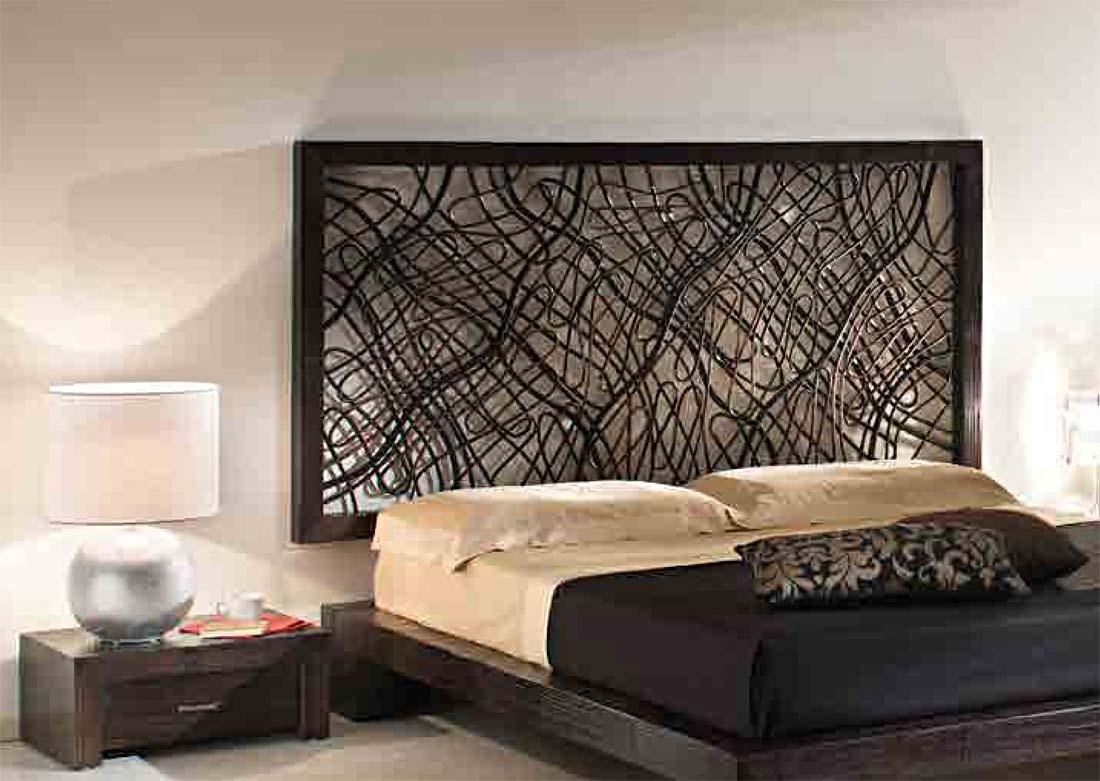t te de lit suspendre en bambou et rotin gamme m liani. Black Bedroom Furniture Sets. Home Design Ideas