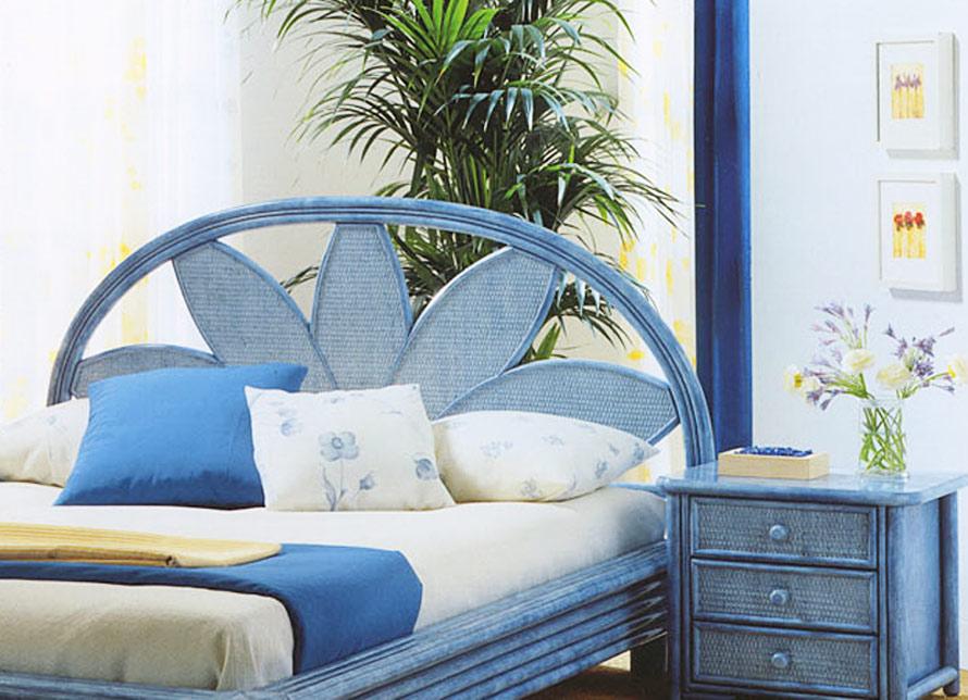 t te de lit rotin haut de gamme 5358. Black Bedroom Furniture Sets. Home Design Ideas