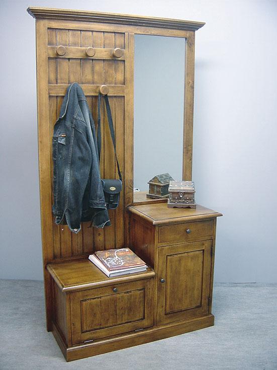 vestiaire bois maison de campagne 4419. Black Bedroom Furniture Sets. Home Design Ideas