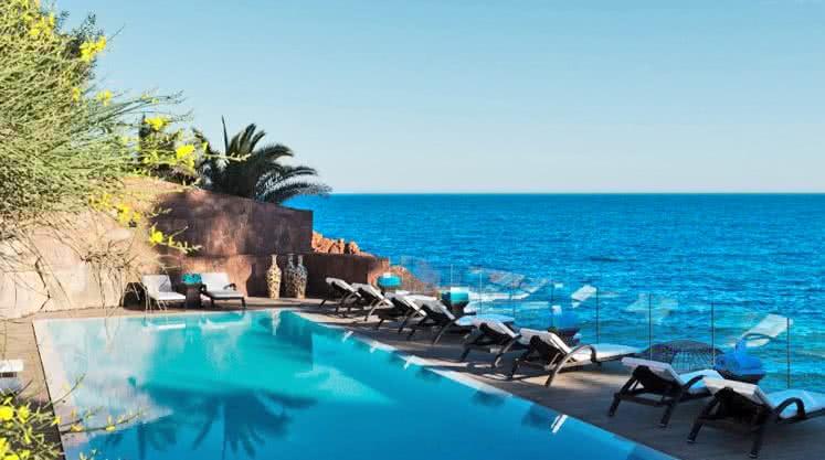 Hôtel Miramar piscine corniche #2