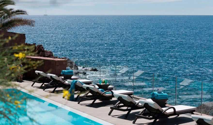 Hôtel Miramar piscine mer #3