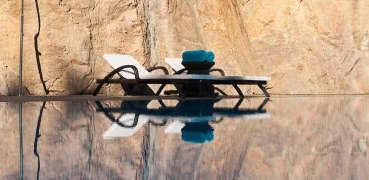 Hôtel Miramar piscine transat de bain #6