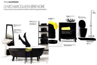 Article Elle Décoration - mise en avant collection Portofino