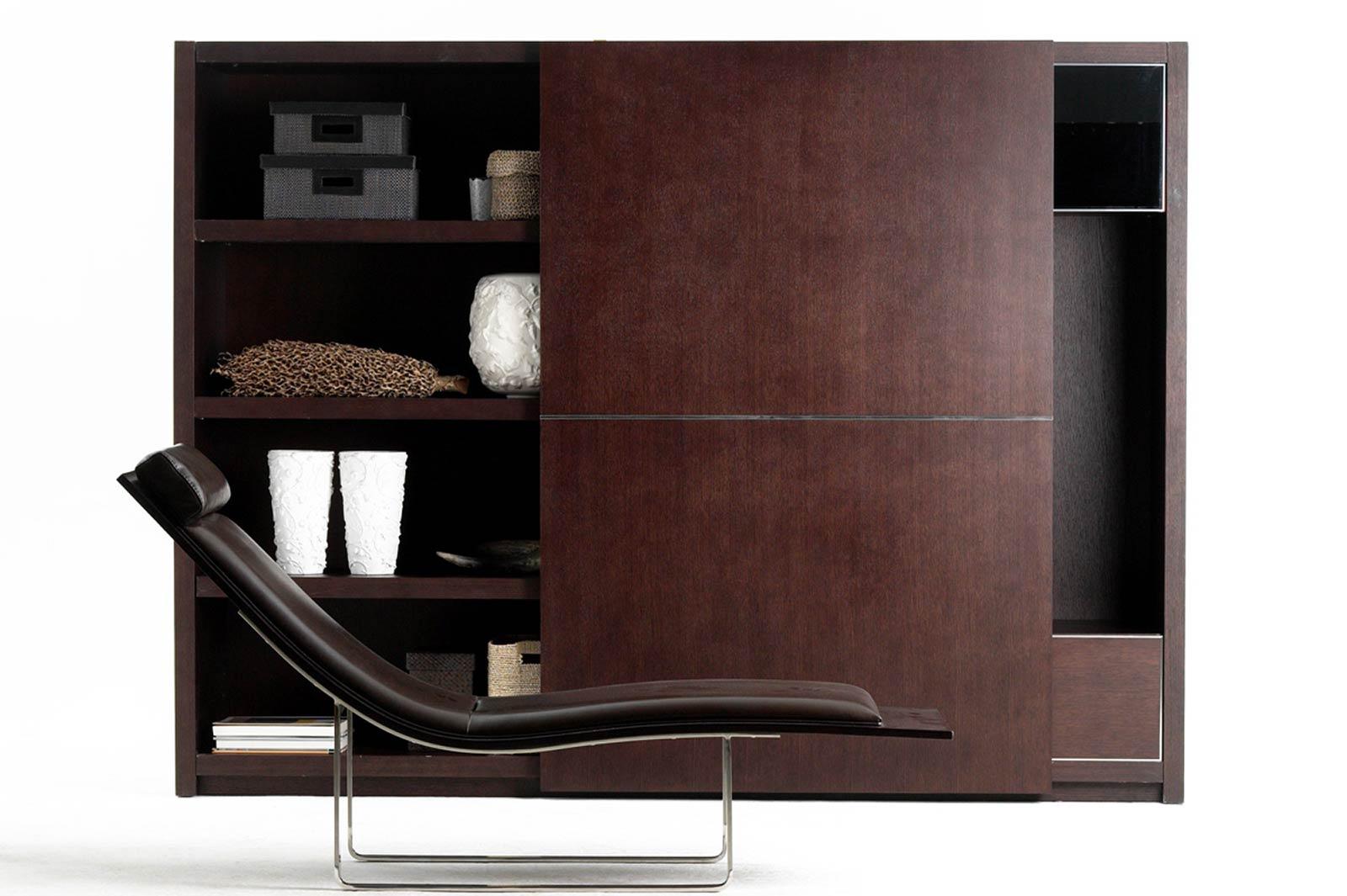 biblioth que en bois massif. Black Bedroom Furniture Sets. Home Design Ideas
