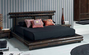 Gamme Tao - Chambre bambou pour une ambiance exotique
