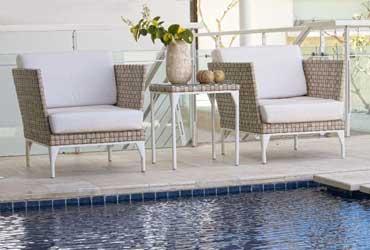 Découvrez Amnia, les meubles de jardin Lusso