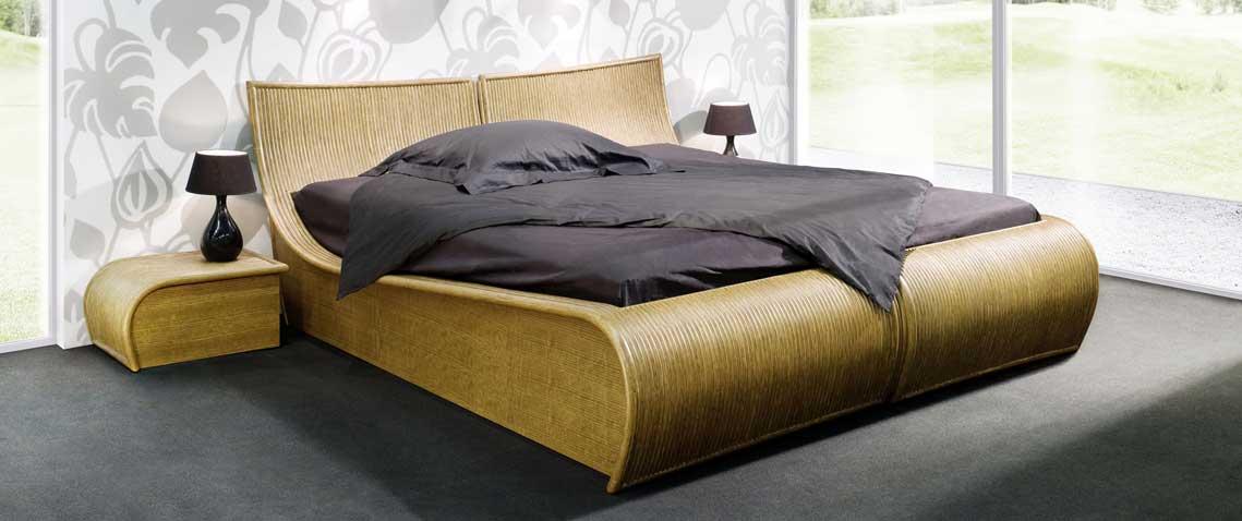 Terriblement moderne, créé sur des lignes épurées, voici le lit