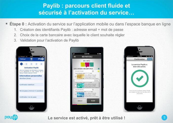 Aide - Comment créer un compte Paylib - Etape 1