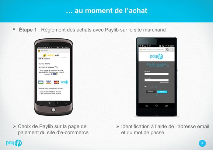 Aide - Comment créer un compte Paylib - Etape 2