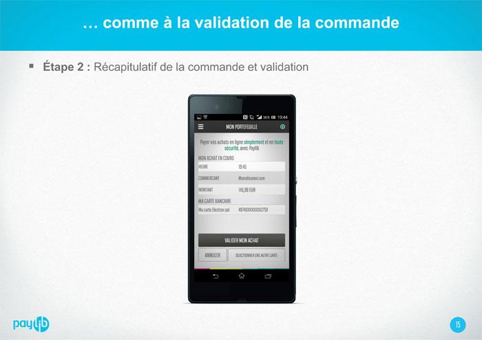 Aide - Comment créer un compte Paylib - Etape 3