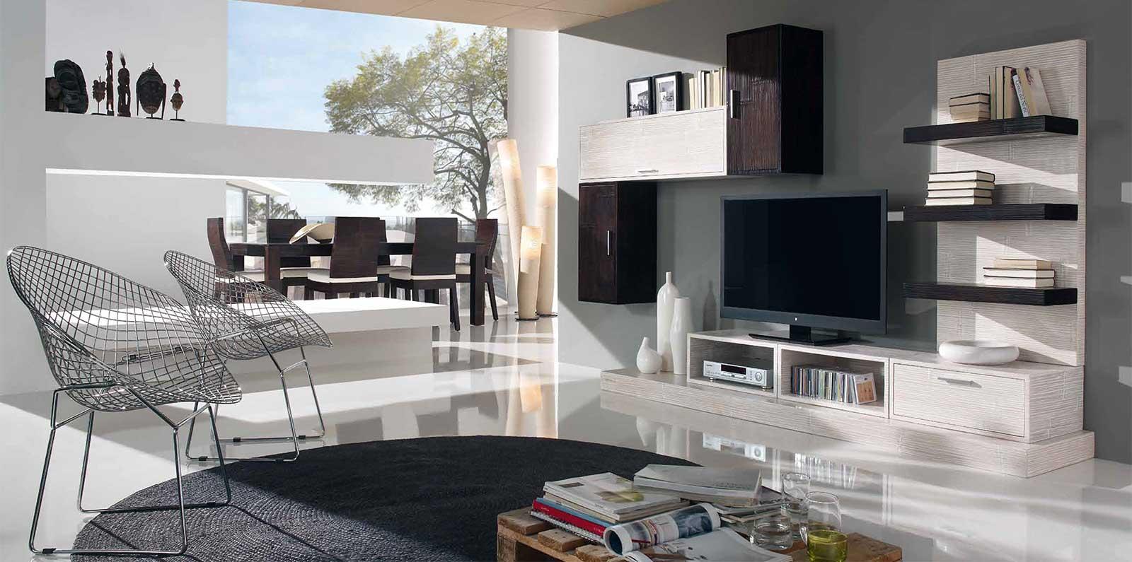 Meubles Modulables Bois Et Teck Haut De Gamme Au Style Design # Grand Meuble Tv Modulable Sous Escalier