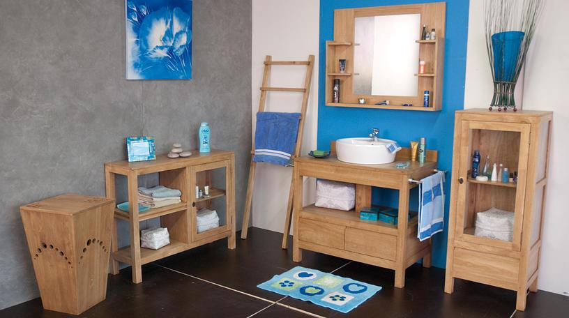 Meuble salle de bain bois exotique meuble de salle bain en bois exotique pic - Meuble exotique pas cher ...