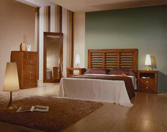 Tête de lit  têtes de lit en bois massif, métal, bambou