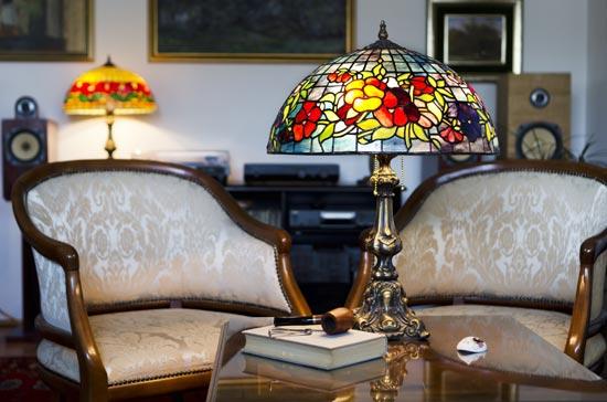 Les lampes Tiffany