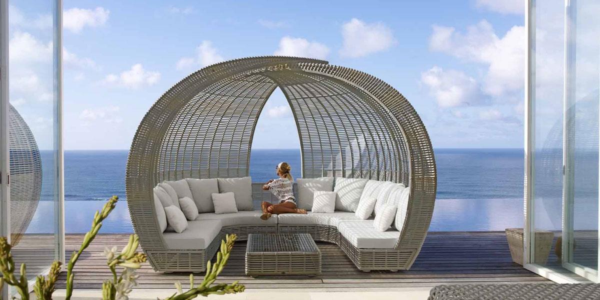 Mobilier de jardin haut de gamme c 39 est lusso - Salon de jardin design luxe ...