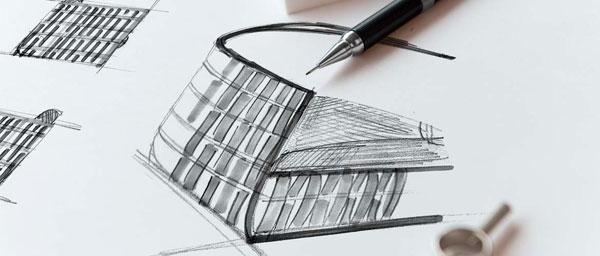 Dessin industriel du fauteuil de jardin en résine et aluminium Irio de Lusso