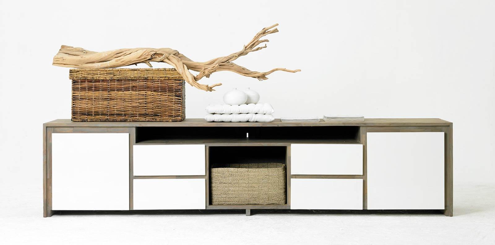 meuble tv long davantage d espaces de
