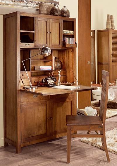 Bureau en bois Mawan