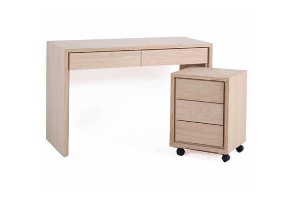 Bureau en teck secr taire mobilier en teck ou autre bois for Bureau en bois exotique