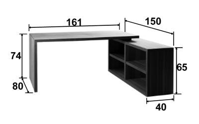 Dimensions bureau Xesse