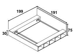 Dimension de l'encadrage et de la tête de lit, couchage 140*190