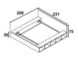 Dimension de l'encadrage et de la tête de lit, couchage 180*200