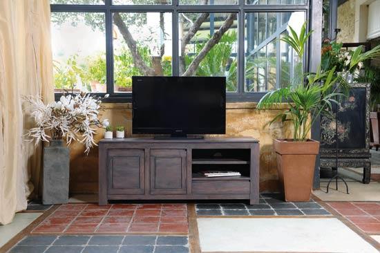 meubles gris en bois bonjour obscur. Black Bedroom Furniture Sets. Home Design Ideas