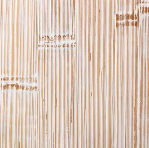Bambou cérusé blanc