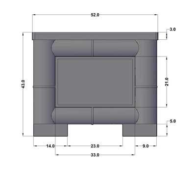 Dimensions - Vue de côté