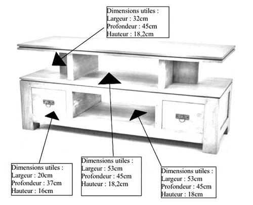 meuble tv de rangement belle pi ce en bois de la collection quixa. Black Bedroom Furniture Sets. Home Design Ideas