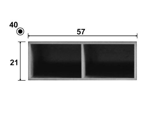 Dimensions de l'élément module chêne Sauvage