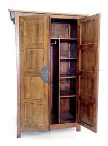 Présentation de l'intérieur de l'armoire Jorg.