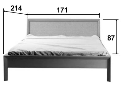 lit en bois personnalisable sitel 5764. Black Bedroom Furniture Sets. Home Design Ideas