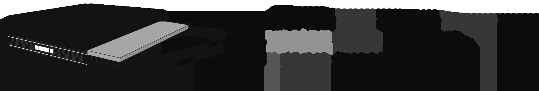Composition : VISCOGELFOAM 52 kg / m3 (3 cm d'épaisseur) et BFOAM 40 kg / m3 (16 cm d'épaisseur)