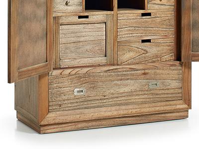 Détail de la fabrication des meubles Ronja