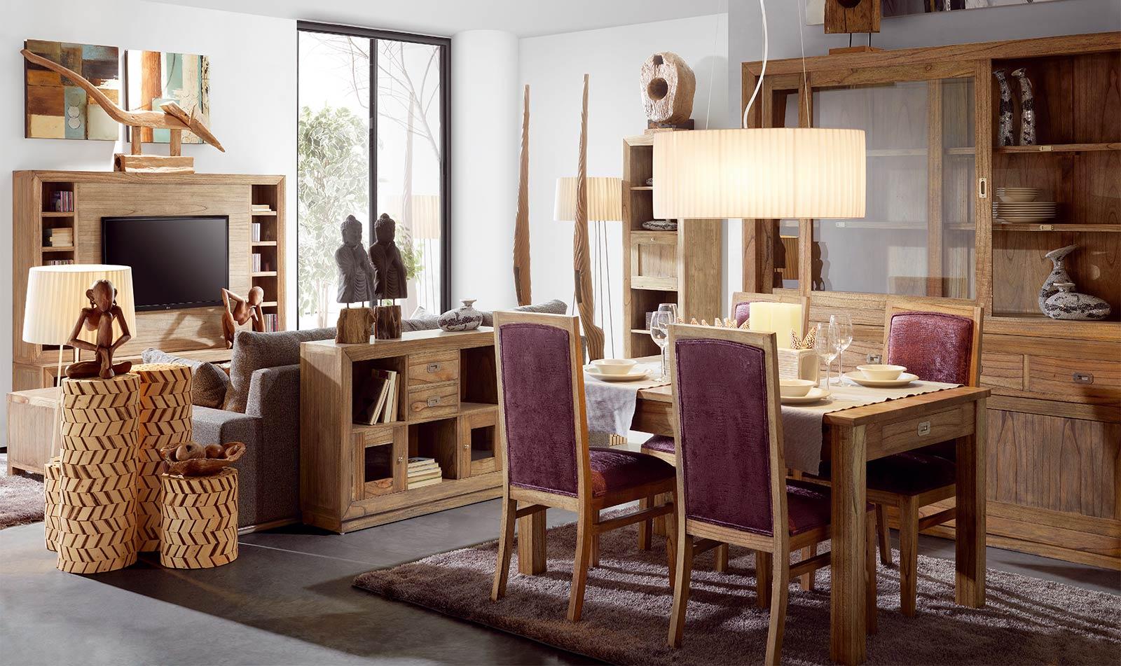 Collection Ronja, les meubles en bois cérusé