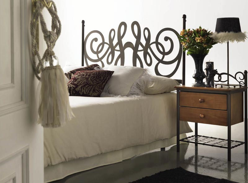 t te de lit t tes de lit en bois massif m tal bambou. Black Bedroom Furniture Sets. Home Design Ideas