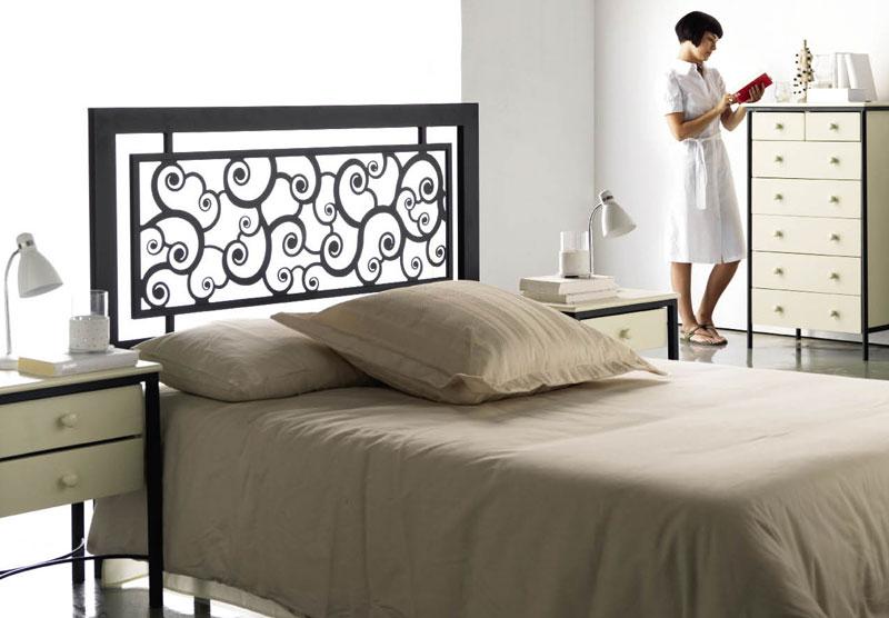 tête de lit : têtes de lit en bois massif, métal, bambou